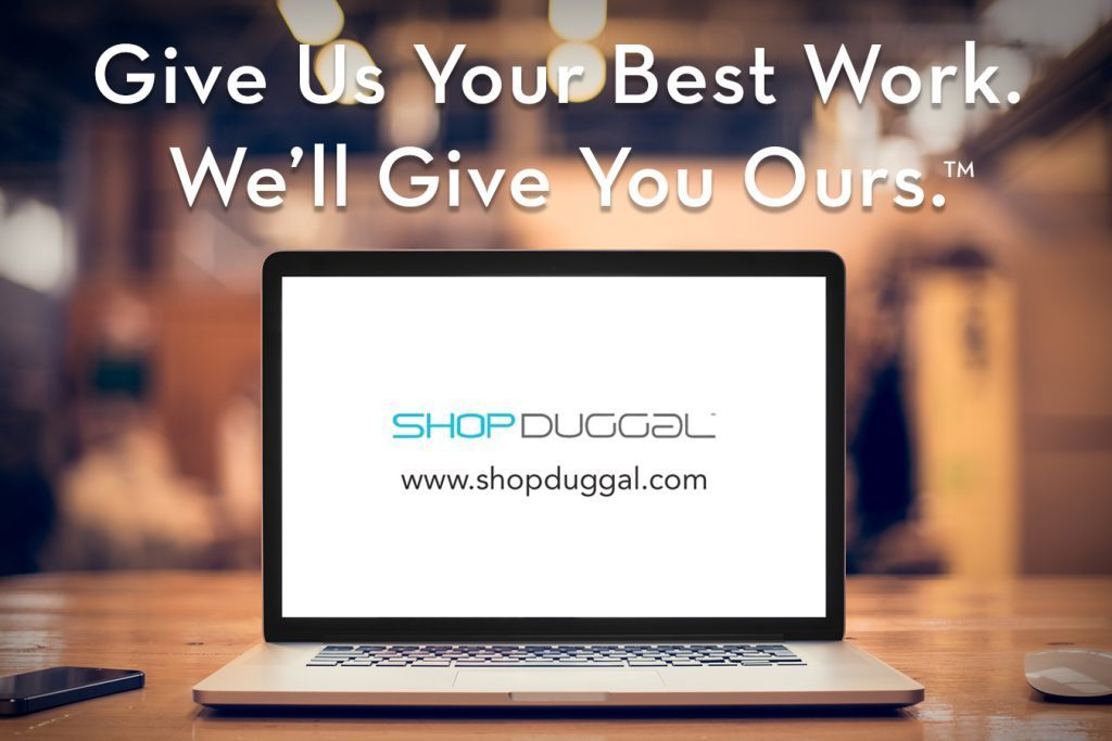 Shop Duggal: Give Us Your Best Work. We'll Give You Ours.